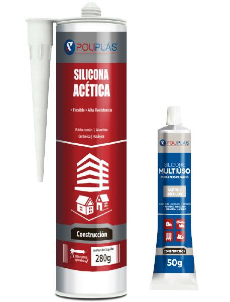 Adhesivo de uso general Silicona acetica